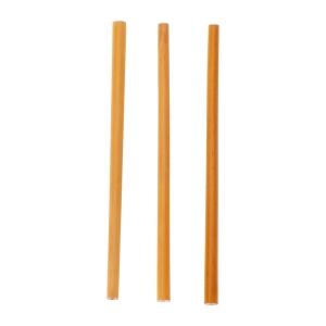 Zestaw słomek bambusowych Nature, brązowy