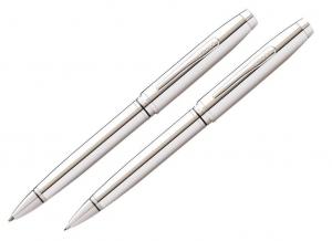 Zestaw (długopis + ołówek 0,7 mm) Cross Coventry korpus i elementy chromowane