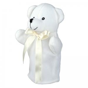 Pacynka Teddy Bear, biały
