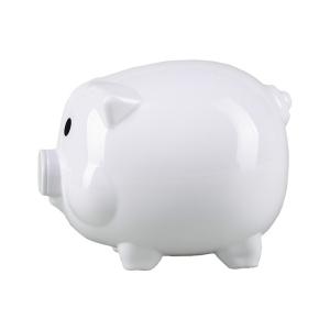 Skarbonka Moneywise, biały
