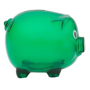 Skarbonka Moneywise, zielony