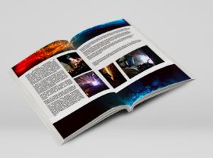katalogi firmowe z logo druk