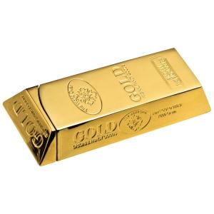 Zapalniczka w kształcie sztabki złota
