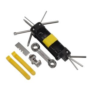 Zestaw narzędzi do roweru Bike Prep, czarny/żółty