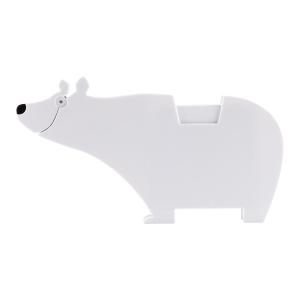 Zestaw memo Polar bear, biały