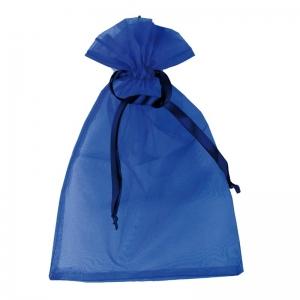 Worek na prezenty, niebieski