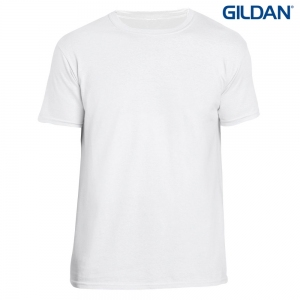 T-shirt unisex Softstyle Ring Spun z nadrukiem Full Color
