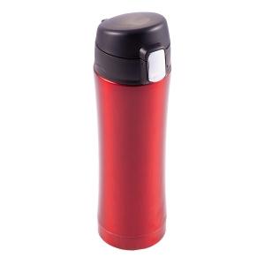 Kubek termiczny Secure 400 ml, czerwony
